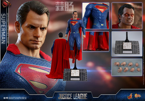 《正义联盟》超人1:6比例珍藏人偶 模玩 第10张