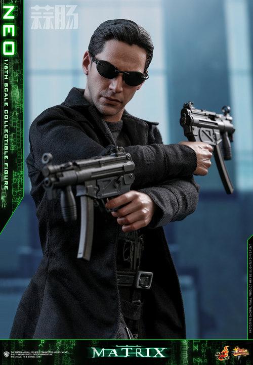 经典科幻电影《廿二世纪杀人网络》Neo 1:6比例珍藏人偶 模玩 第6张