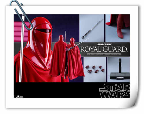 Hot Toys推出两款全新《星球大战VI:武士复仇》1:6比例珍藏人偶