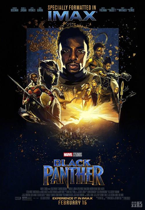 厉害了!漫威新片《黑豹》口碑解禁 IMAX海报公开! 动漫 第3张