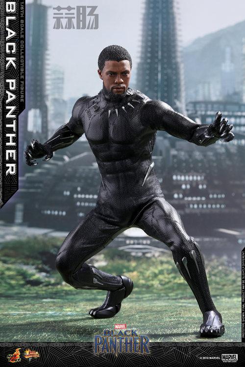 Hot Toys 推出MARVEL 超级英雄角色《黑豹》黑豹1:6比例珍藏 模玩 第2张