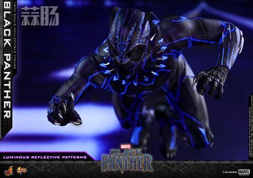 Hot Toys 推出MARVEL 超级英雄角色《黑豹》黑豹1:6比例珍藏 模玩 第8张