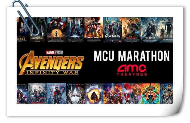 《复仇者联盟3》内地定档?美国影院将开启漫威电影宇宙马拉松式放映