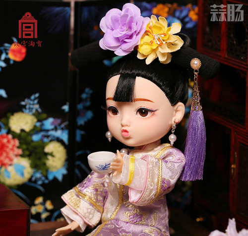 """故宫""""俏格格娃娃""""已停售 素体疑似与某娃娃相似? 模玩 第4张"""