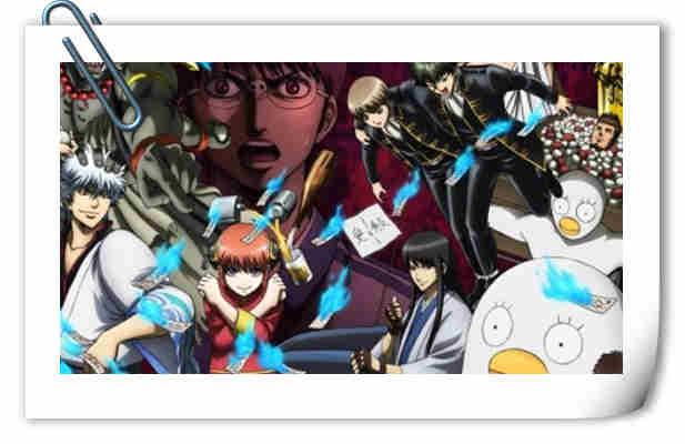 《银魂 走光篇》光碟第五卷封面插图公开!银之魂篇7月再见! 