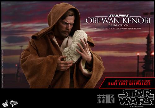 《星球大战3:西斯的复仇》欧比旺·肯诺比1:6比例珍藏人偶 模玩 第1张