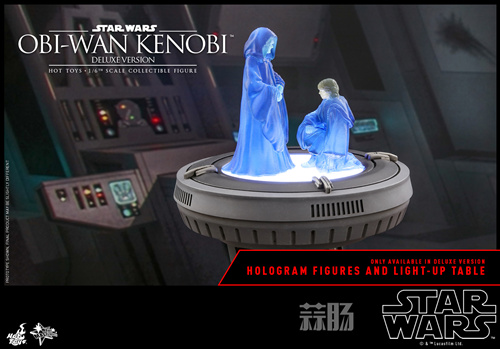 《星球大战3:西斯的复仇》欧比旺·肯诺比1:6比例珍藏人偶 模玩 第4张