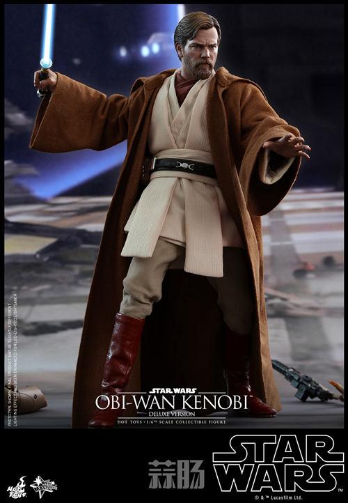 《星球大战3:西斯的复仇》欧比旺·肯诺比1:6比例珍藏人偶 模玩 第5张