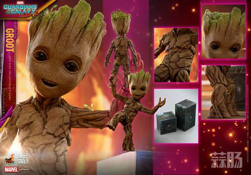 Hot Toys 推出多款《银河护卫队2》格鲁特会场限量版珍藏人偶 模玩 第8张