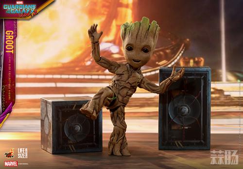 Hot Toys 推出多款《银河护卫队2》格鲁特会场限量版珍藏人偶 模玩 第7张