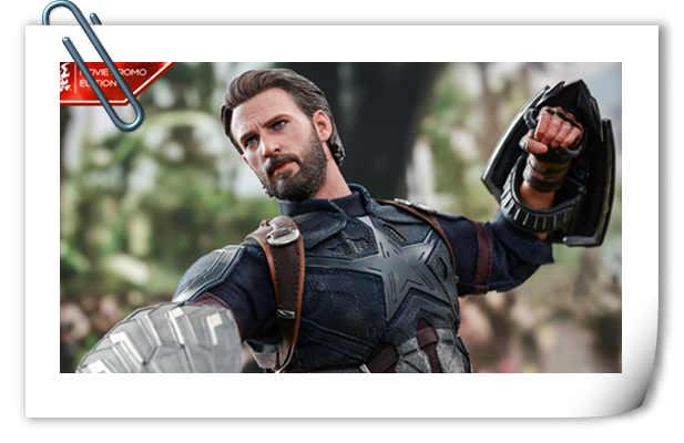 Hot Toys抢先电影《复仇者联盟3》上映前公布 美国队长1:6比例珍藏人偶