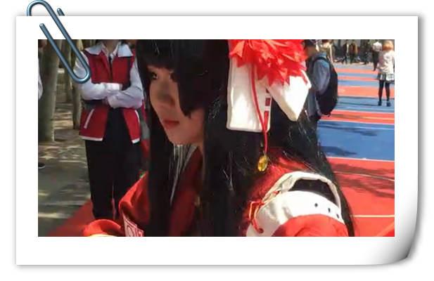 """漫展既视感 西安交大""""樱花祭""""coser云集!"""