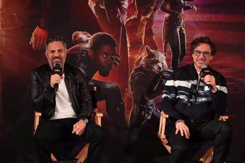 《复仇者联盟3》上海发布会 主创们谈自己最难忘的瞬间 动漫 第2张