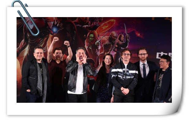 《复仇者联盟3》上海发布会 主创们谈自己最难忘的瞬间