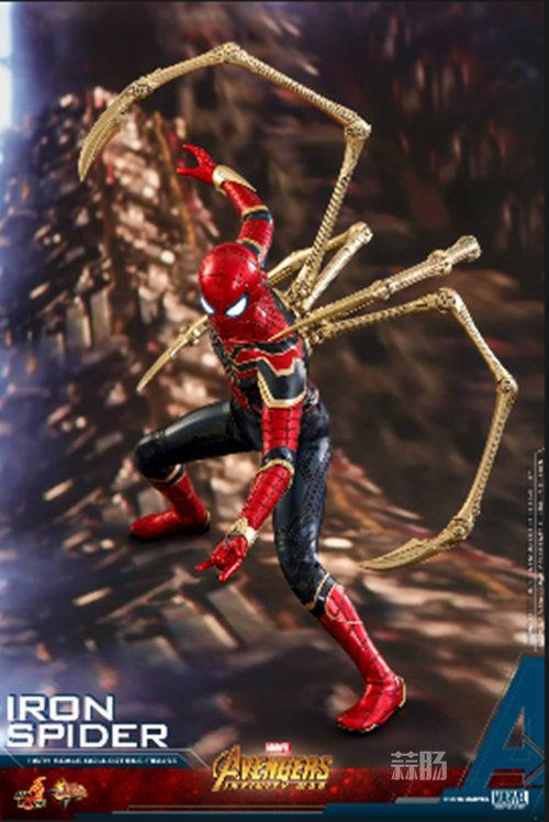 Hot Toys《复仇者联盟3: 无限战争》钢铁蜘蛛1:6比例珍藏人偶 模玩 第1张