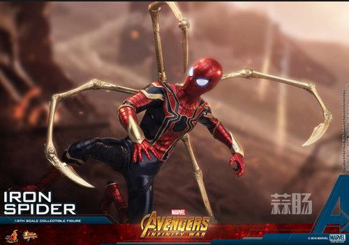 Hot Toys《复仇者联盟3: 无限战争》钢铁蜘蛛1:6比例珍藏人偶 模玩 第2张
