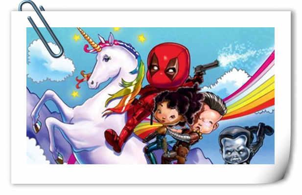 《死侍2》发布IMAX海报!小公举的画风?