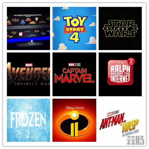 幸福!2018-2019迪士尼共有18部电影上映! 动漫