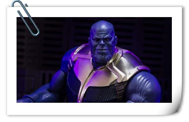 孩之宝Marvel Legends系列 无限战争灭霸 开盒