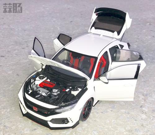 AUTOart 1:18 本田 Civic Type R预产样品公布 汽车模型 第5张