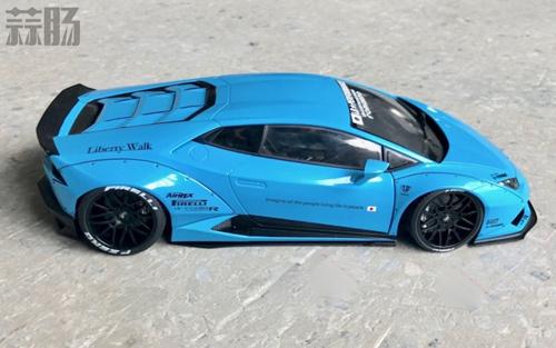 AUTOart 1/18兰博基尼Huracan LB PERFORMANCE样品图公布 汽车模型 第1张