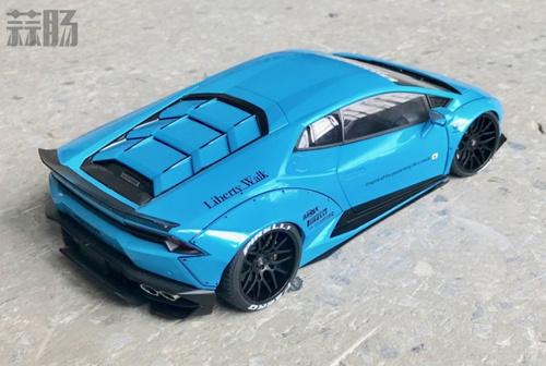 AUTOart 1/18兰博基尼Huracan LB PERFORMANCE样品图公布 汽车模型 第2张
