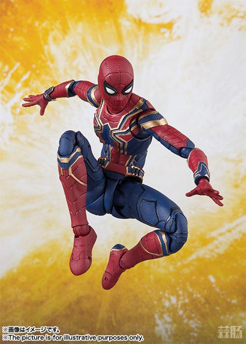 万代 SHF《复仇者联盟3 无限战争》 蜘蛛侠 官图更新  动漫 第2张