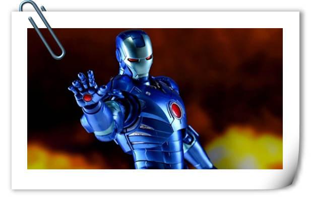 SHF 钢铁侠MARK 3 -蓝色版官图来袭!
