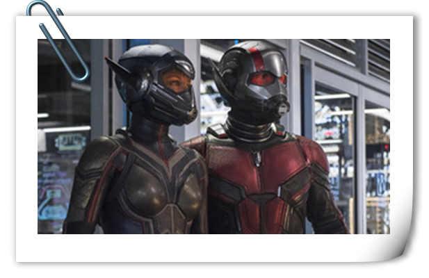 看点多多 《蚁人2:黄蜂女现身》发布新正式预告!