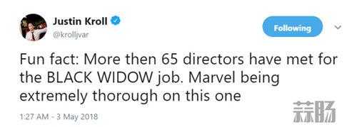 《黑寡妇》独立电影新情报 已有超过65个导演与漫威商谈 动漫 第1张
