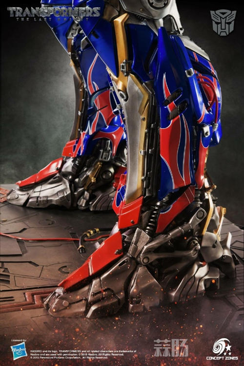 Concept Zones《变形金刚5:最后的骑士》 擎天柱雕像官图更新! 变形金刚动态 第4张