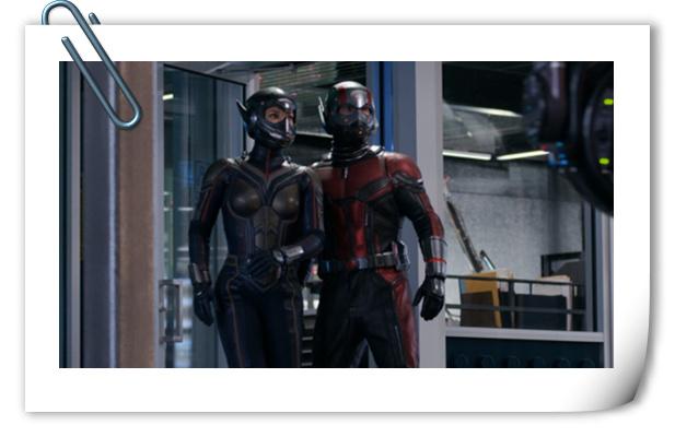 《蚁人2:黄蜂女现身》极清幕后片场照新鲜来袭!