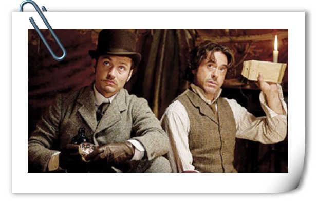 《大侦探福尔摩斯3》定档!主演小罗伯特·唐尼&裘德洛回归!