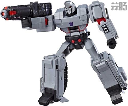 孩之宝《Transformers Cyberverse》U级威震天和擎天柱设定图公开 变形金刚动态 第1张