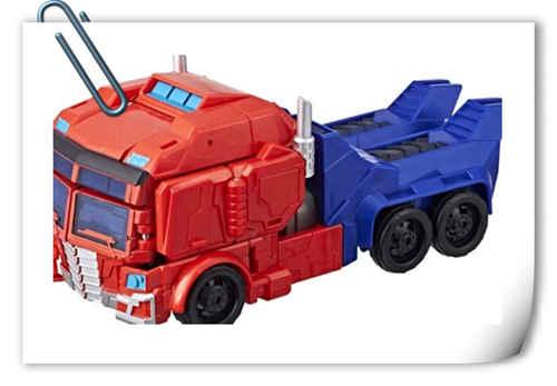 孩之宝《Transformers Cyberverse》U级威震天和擎天柱设定图公开