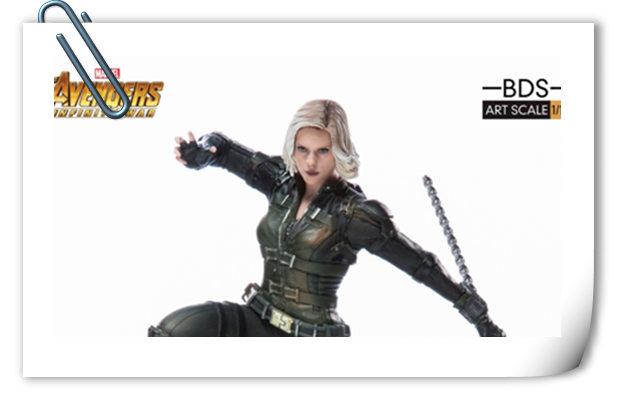 Iron Studios 1/10《复联3:无限战争》黑寡妇雕像官图来袭!