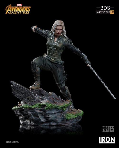 Iron Studios 1/10《复联3:无限战争》黑寡妇雕像官图来袭! 模玩 第2张