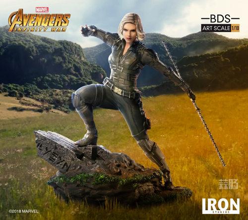 Iron Studios 1/10《复联3:无限战争》黑寡妇雕像官图来袭! 模玩 第4张