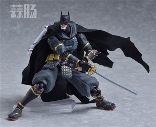 帅气!Figma武士蝙蝠侠 更新官图! 模玩 第3张