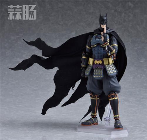 帅气!Figma武士蝙蝠侠 更新官图! 模玩 第1张