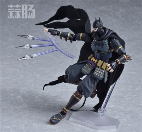 帅气!Figma武士蝙蝠侠 更新官图! 模玩 第6张