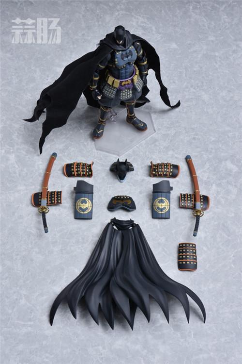 帅气!Figma武士蝙蝠侠 更新官图! 模玩 第8张