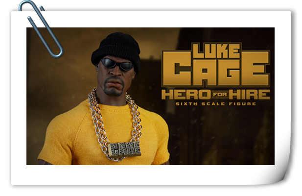 Sideshow预告来袭!1/6 漫威宇宙美剧《Luke Cage》 卢克·凯奇 可动人偶