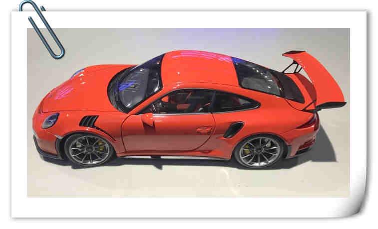 AUTOart发布1:18比例保时捷模型