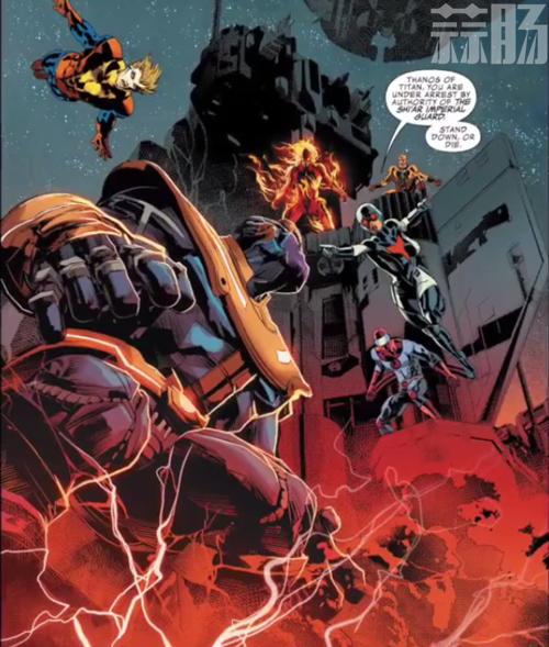 一个响指毁了半个宇宙的灭霸也曾险些丧命丨聊一聊灭霸惨败的一战 动漫 第7张