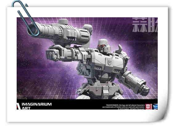 Imaginarium Art's放出G1威震天雕像预告官图公开!