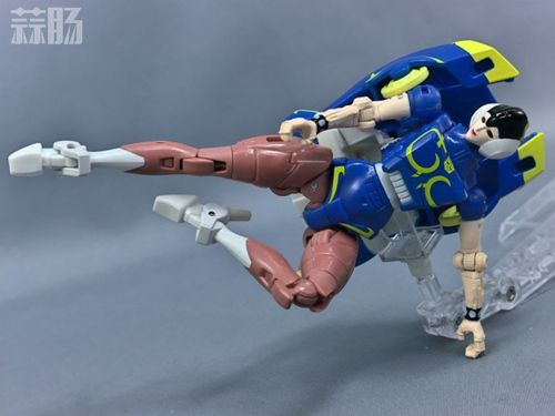 变形金刚x《街头霸王》特别版玩具实物图流出 变形金刚 第3张