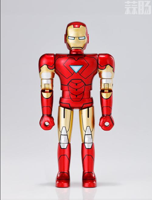 万代公开超合金HEROES系列 钢铁侠MK6官图 模玩 第1张