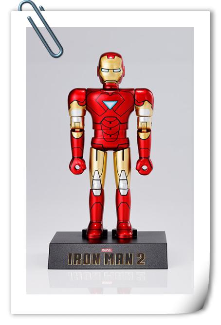 万代公开超合金HEROES系列 钢铁侠MK6官图