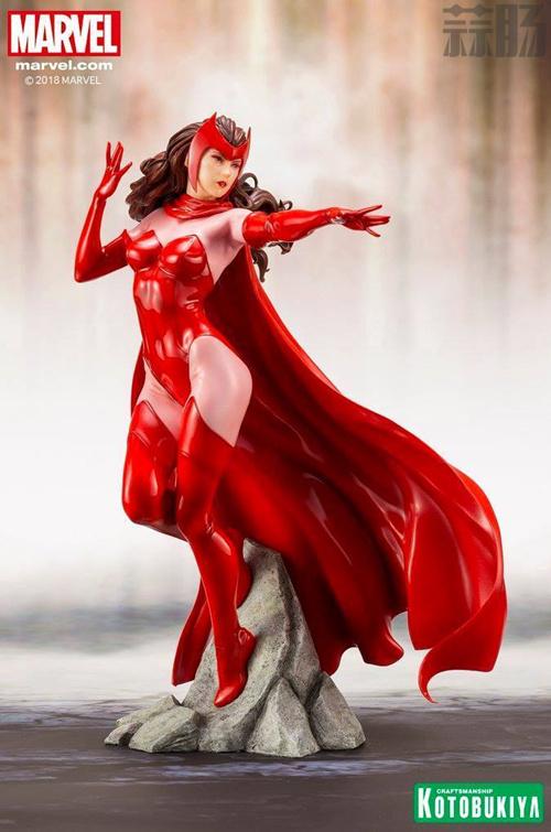 寿屋公开1:10漫画版猩红女巫全新官图来袭! 模玩 第2张